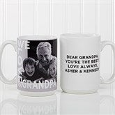 Loving Them Personalized Photo Coffee Mug 15oz.- White - 15932-L