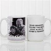 Loving Them Personalized Photo Coffee Mug 15oz.- White - 15932-L