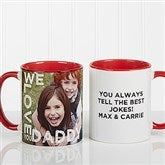Loving Them Personalized Photo Coffee Mug 11oz.- Red - 15932-R