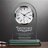 Timeless Recognition Personalized Retirement Clock - 15951
