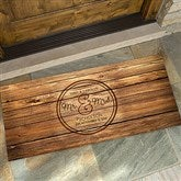 Circle Of Love Personalized Oversized Doormat- 24x48 - 15962-O