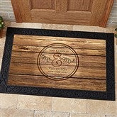 Circle Of Love Personalized Doormat- 20x35 - 15962-M