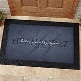 The Heart Of Our Home Personalized Doormat- 20x35 - 15964-M