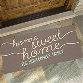 Front Door Greetings Personalized Oversized Doormat- 24x48 - 15965-O