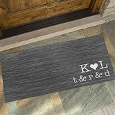 Family Initials Personalized Oversized Doormat- 24x48 - 15966-O