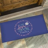 Live, Love, Spoil Personalized Oversized Doormat- 24x48 - 15968-O