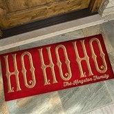 HO HO HO Personalized Oversized Doormat- 24x48 - 15970-O