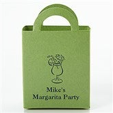 Party Time Personalized Mini Tote Favor Boxes - Round - 15990D-R