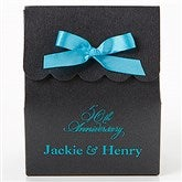 Wedding & Anniversary Stardream Personalized Tote Favor Boxes - Scalloped - 15991D-SC