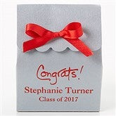 Party Time Personalized Stardream Tote Favor Boxes - Scalloped - 15993D-SC