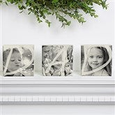 DAD Personalized Photo Shelf Blocks- Set of 3 - 15997