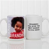 Loving Them Personalized Photo Coffee Mug 15oz.- White - 15998-L