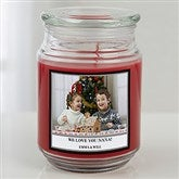Picture Perfect Personalized Scented Glass Candle - 16001