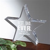 Best. Dad. Ever. Personalized Award - 16020