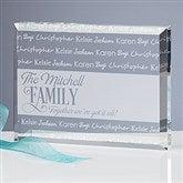 Family Is Love Engraved Keepsake - 16028