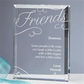 Friends Forever Engraved Keepsake - 16030