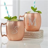 Initial Impressions Monogrammed Moscow Mule Copper Mug - 16086