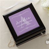 My Name Means... Personalized Jewelry Box - 16093