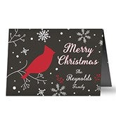 Wintertime Wishes Personalized Christmas Cards - 16094