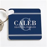 My Name Means...Personalized Key Ring for Him - 16096