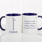 Bridal Brigade Personalized Wedding Coffee Mug 11oz.- Blue - 16127-BL