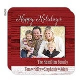 Family Love Personalized Rustic Photo Cards - 16161