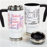 Signature Style Personalized Commuter Travel Mug - 16162