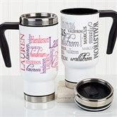 Signature Style Personalized Commuter Travel Mug - 16162