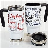 Signature Style For Him Personalized Commuter Travel Mug - 16163