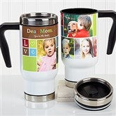 Photo Fun Personalized Collage Commuter Travel Mug - 16164