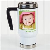 Picture Perfect Personalized Commuter Travel Mug- 1 Photo - 16172-1