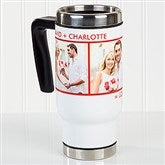 Picture Perfect  Personalized Commuter Travel Mug- 2 Photo - 16172-2