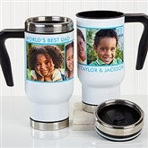 Picture Perfect Personalized Commuter Travel Mug- 3 Photo - 16172-3