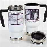 Picture Perfect Personalized Commuter Travel Mug-6 Photos - 16172-6