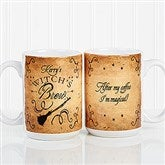 Witch's Brew Personalized Large Coffee Mug 15oz.- White - 16200-L