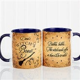 Witch's Brew Personalized Coffee Mug 11oz.- Blue - 16200-BL