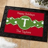 Jolly Jester Personalized Doormat- 18x27 - 16207