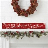 Christmas Quotes Personalized Wooden Sign - 16212