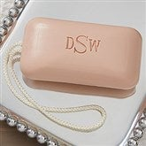 Elegant Monogram Massage Soap W/ Rope - Monogram - 16218D-M