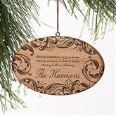 Family Blessings Personalized Ornament - 16225