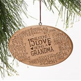 Reasons Why For Her Personalized Ornament - 16226