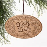 Reasons Why For Him Personalized Ornament - 16227