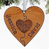 Perfect Match Personalized Ornament - 16240