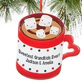 Sweet Family© Personalized Marshmallow Ornament- 4 Name - 16251-4
