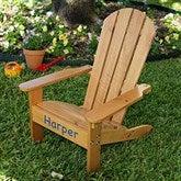 KidKraft Personalized Adirondack Chair - Honey - 16281D-H