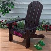 KidKraft Personalized Adirondack Chair - Espresso - 16281D-E