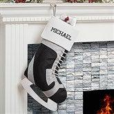 Hockey Skate Personalized Stocking - 16289