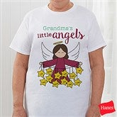 Her Lil' Angels Personalized Hanes® T-Shirt - 16293-T