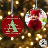 2-Sided My Name Means Personalized Photo Ornament - 16297-2