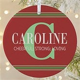 1-Sided My Name Means Personalized Ornament- Large - 16297-1L